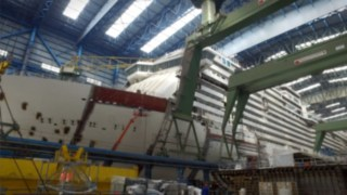 Video zum Einsatz Linde Speed Assist bei Meyer Werft